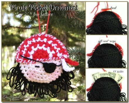Pirate Pocket Ornament