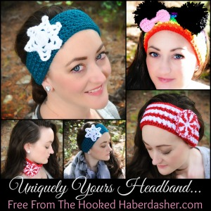 Find the free pattern here, too: http://www.ravelry.com/patterns/library/uniquely-yours-headband-earwarmer-neckwarmer