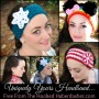 Free Pattern ~ Easy Crochet Headband/Earwarmer/Neckwarmer