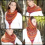 New Pattern: The Wimple Hood Bandanna Cowl Scarf