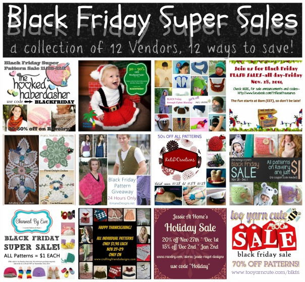 BLACK FRIDAY SUPER SALE - 12 VENDORS, 12 WAYS TO SAVE!
