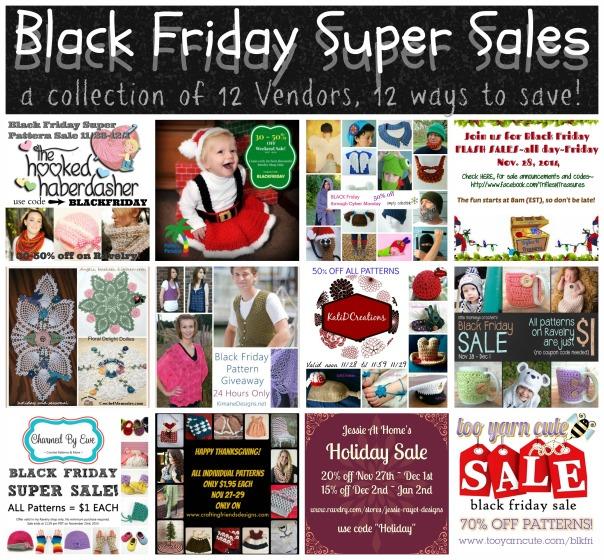 BLACK FRIDAY SUPER SALE - 12 VENDORS, 12 WAYS TO SAVE!
