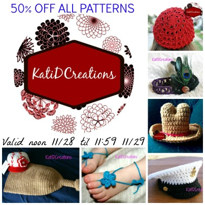Black Friday 24 hour sale at KatiDCreations