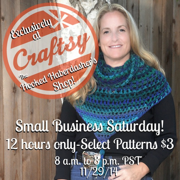 The Hooked Haberdasher Small Business Saturday Sale